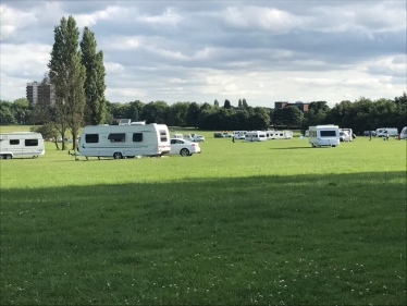 Unauthorised encampments have occurred across the borough
